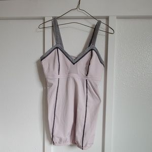 Lululemon tank with build in bra